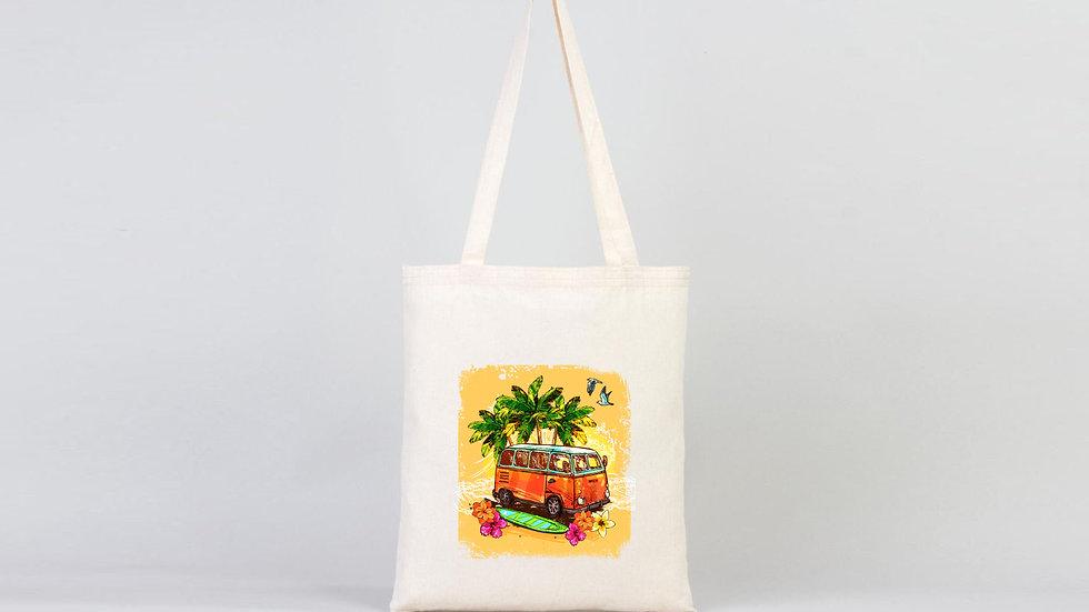 Bez Çanta Yaz Temalı