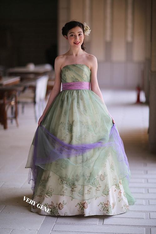 シアカラーアンティークドレス(cad00021)