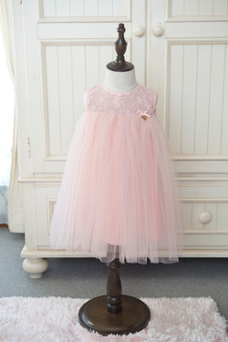 ベイビーピンクドレス