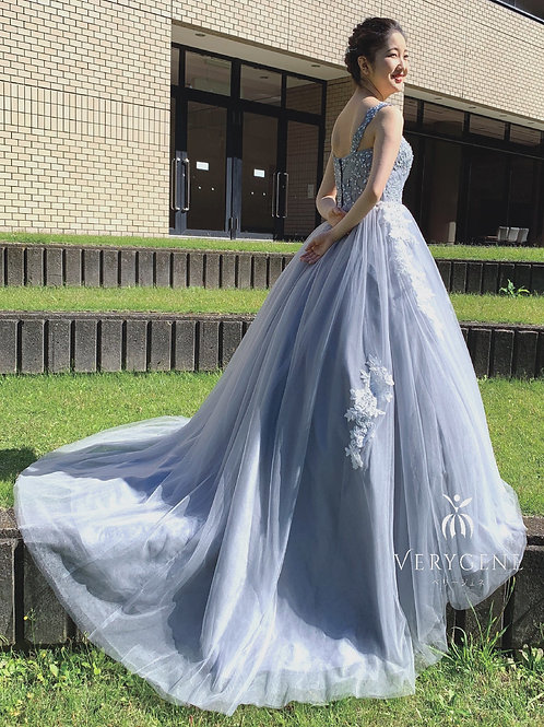 グレイッシュハートドレス(nad00046)