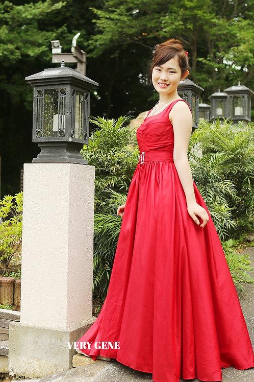 スクエアバックルパッションドレス (npd00010)