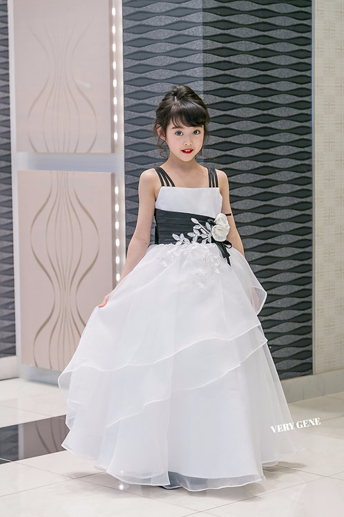 トライショルダリングドレス (ccd06044)