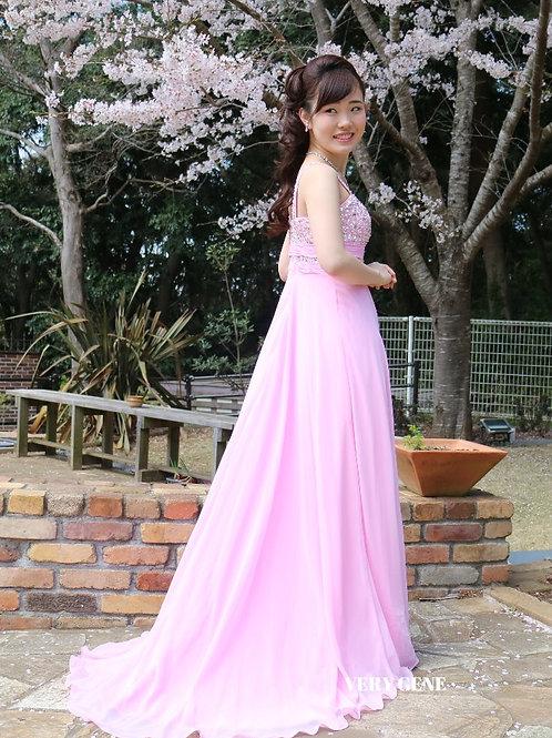アクティブシャイニーネックドレス(cad06004)