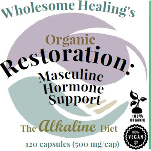 Alkaline Wellness Program Capsules Collection | Organic (120 Caps) | Vegan