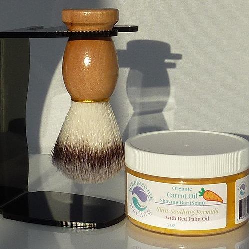 Carrot Oil Shaving Bar Soap | Organic | Vegan