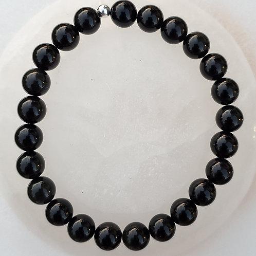 Black Obsidian | Polished | Bracelet