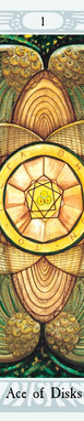 Thoth Tarot Studies_AceOfDisks.jpg