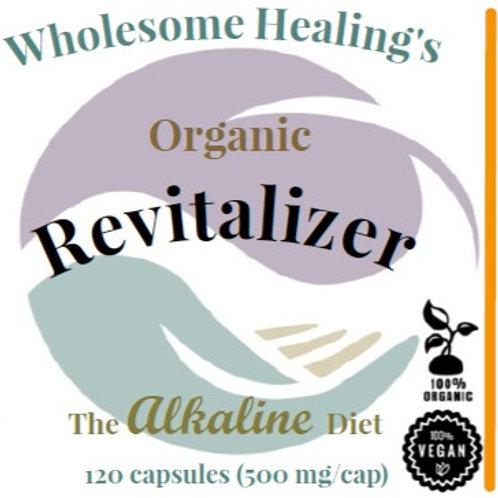 Revitalizer | Organic | Vegan | Alkaline | 120 Capsules