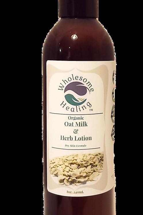 Oat Milk and Herb Lotion | Organic | Vegan