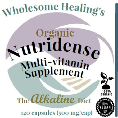 Nutridense: Multi-Vitamin | Organic | Alkaline