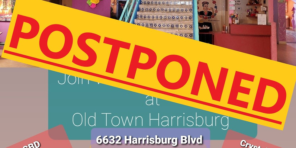 POSTPONED: Wholesome Healing is going back to Old Town Harrisburg May 16th