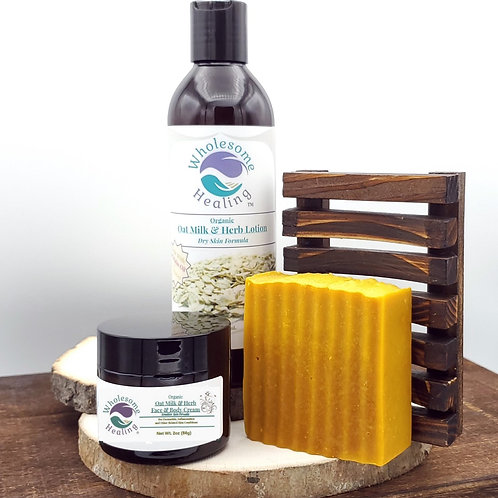 Oat Milk Skin Care | Lotion | Body Cream | Soap | Organic