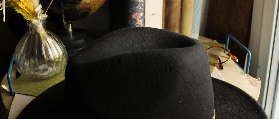 Chapeau en feutre Leti noir