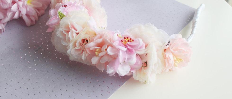 Couronne de fleurs printanières Thallo