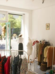 Boutique éphémère vêtement vintage