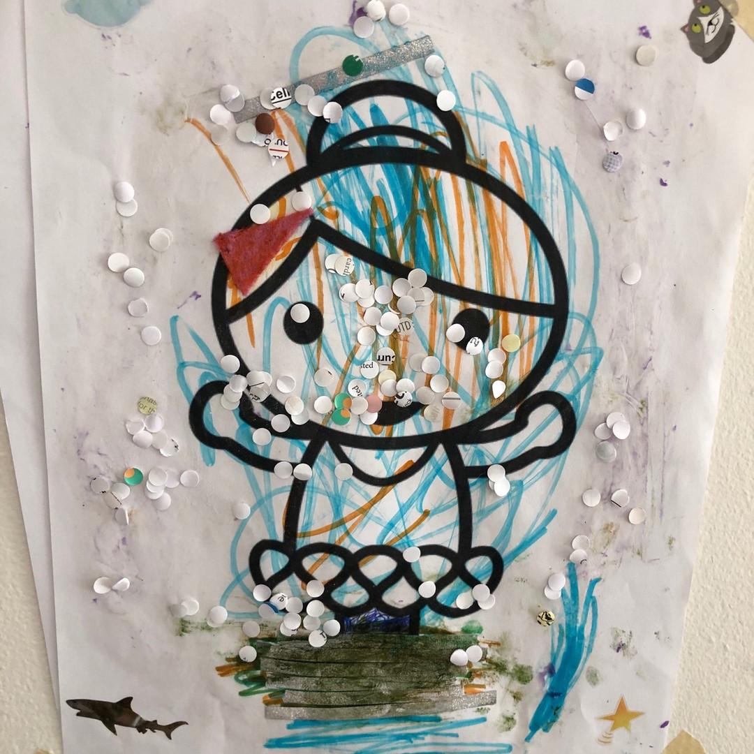 By Julie, age 4.