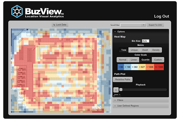 Buzby, Buzby Works, BuzView LVA, Location Visual Analytics, Location-Based Analytics, BuzView, Big Data, Big Location Data, Indoor Location, Indoor Location Data, Visual Analytics