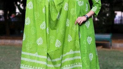 Stylish Cotton Women's Kurta Set