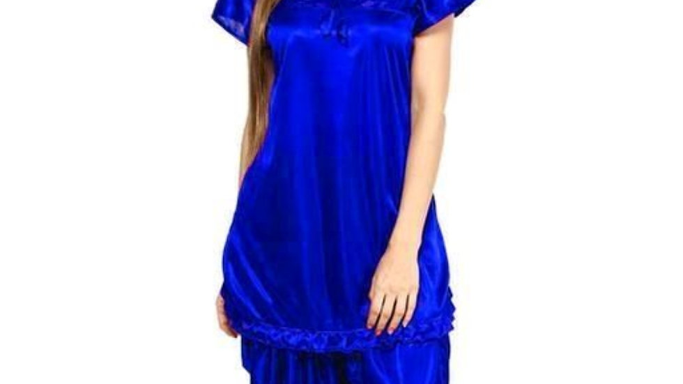Womens Stylish Satin Nightwears Satin