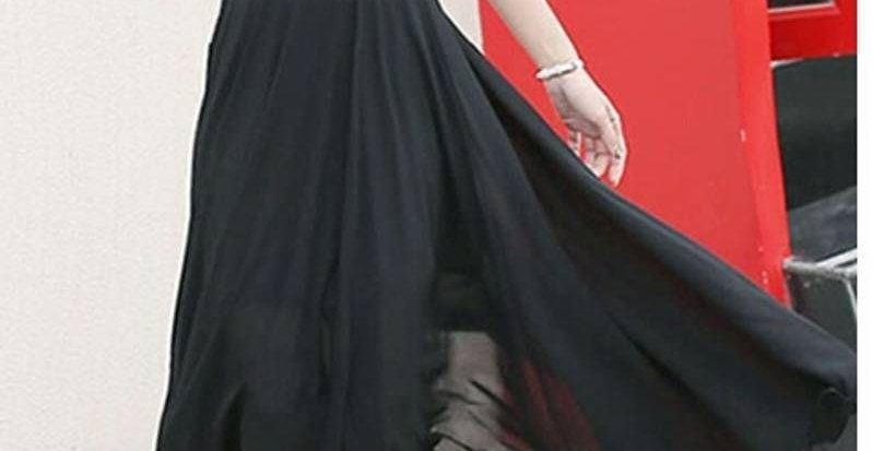 Black Aziza Long Dress