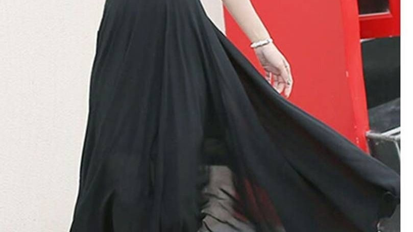 Black Aziza Long Dress