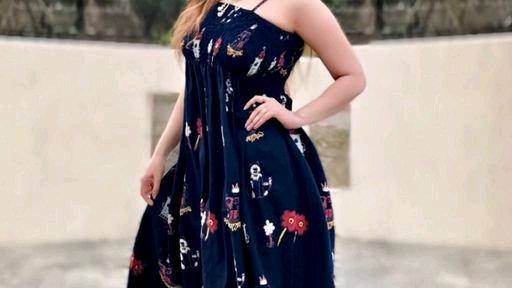 Attractive Cotton Printed Dress