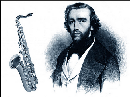 Who invented saxophone ?