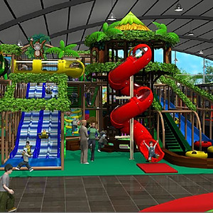 Indoor Playground and Trampoline Park
