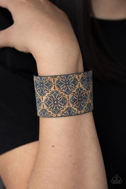 Cork Culture - Blue urban bracelet