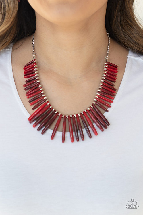 Out of My Element - Red necklace