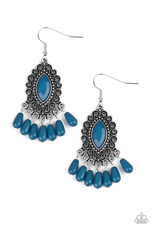 Private Villa - Blue earring