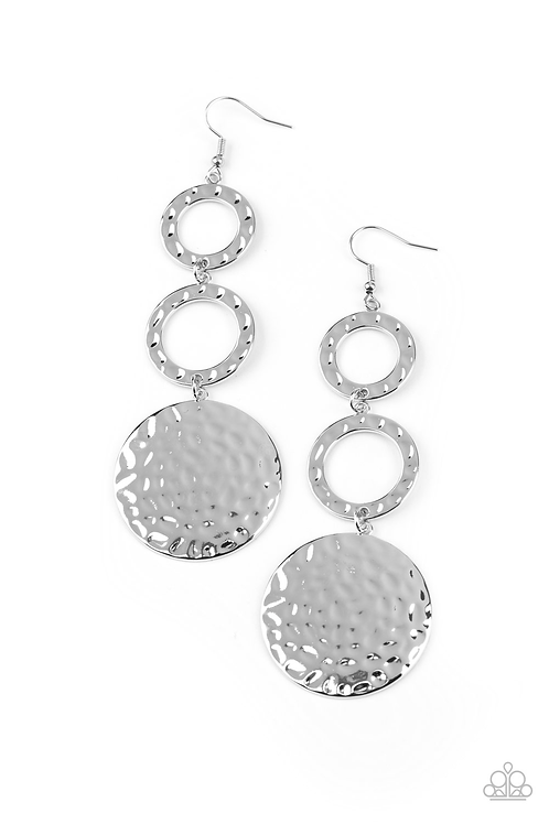 Blooming Baubles - Silver earring