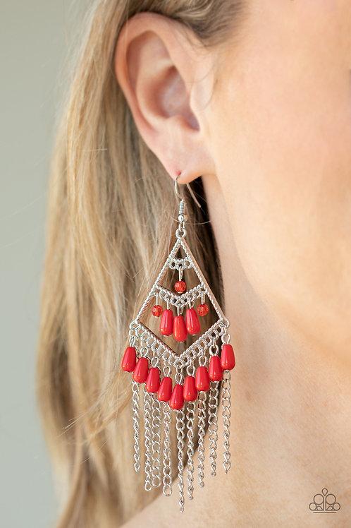 Trending Transcendence - Red earring