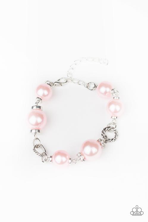 Boardroom Baller - Pink bracelet