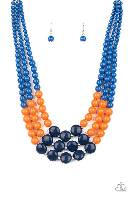 Beach Bauble - Blue necklace