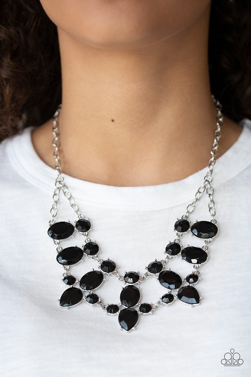 Goddess Glow - Black necklace