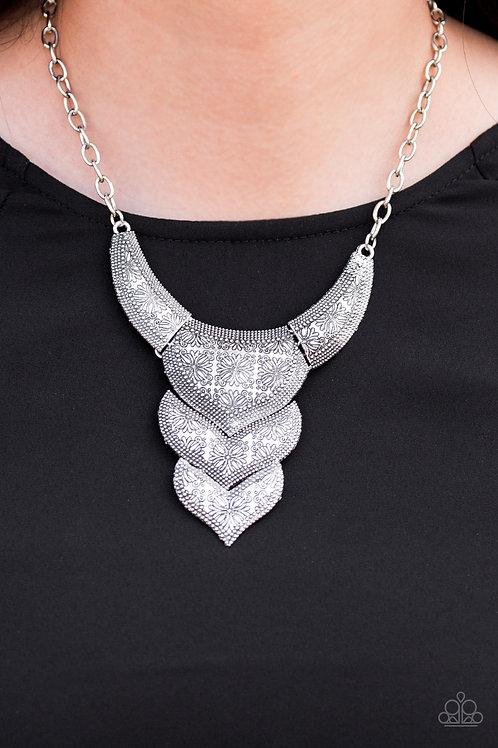Texas Temptress - Silver necklace