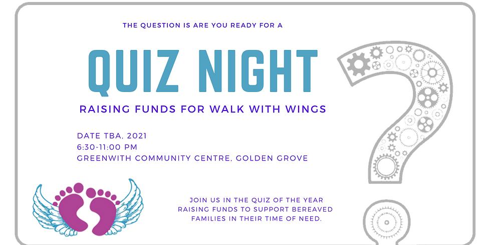 2021 Walk With Wings Quiz night