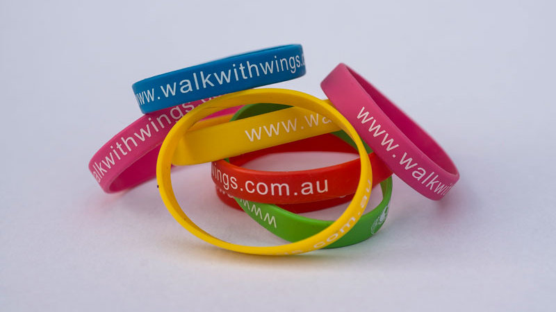 Walk With Wings Wristband