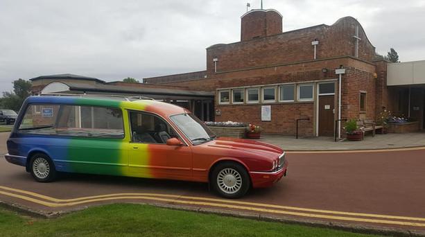 Rainbow Hearse