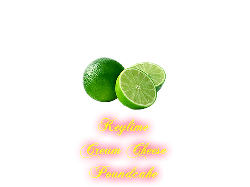 Keylime Cream Cheese Poundcake