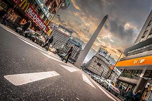BORIS G. Obelisco de Buenos Aires, Argen