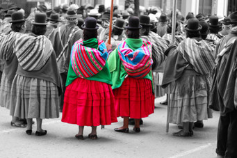 A Selective Protest, La Paz