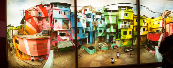 Favela Painting exhibit