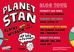 Blog Tour Planet Stan - My Life in Pie Charts Elaine Wickson Chris Judge