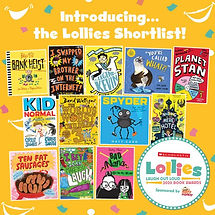 Lollies 2020 Book Awards shortlist Planet Stan Elaine Wickson Chris Judge Action Stan Super Stan