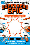 Create Your Own Suprhero Epic Andrew Judge Chris Judge Planet Stan