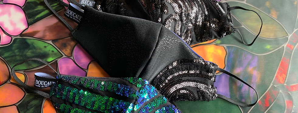 Black Swan Mask Set
