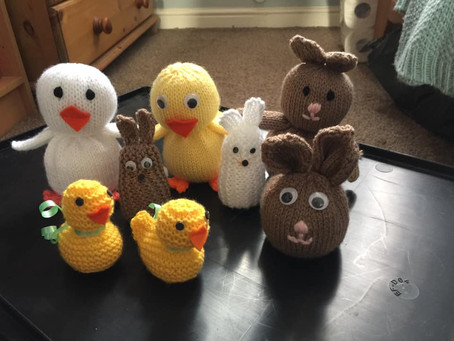 Easter Knitted Characters