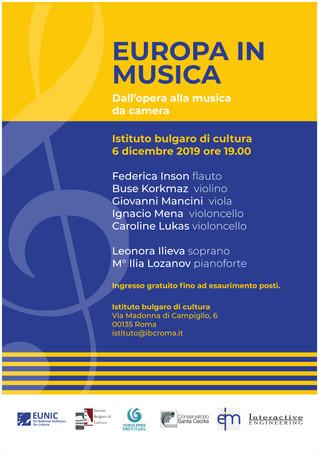 """Concerto """"Dall'opera alla musica da camera"""""""